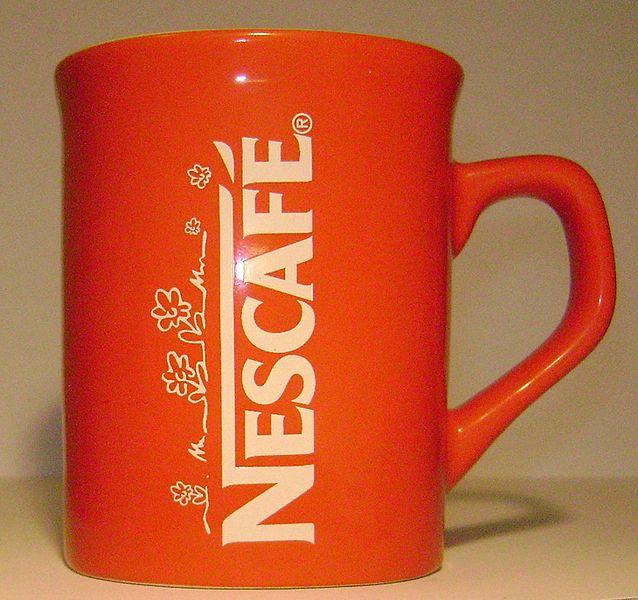 Nescafe Tasse - Löslicher Kaffee